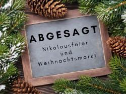 Verschönerungsverein sagt Nikolausfeier und Weihnachtsmarkt ab