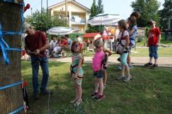 Neuer Spielplatz erfreut Kinder in Krunkel