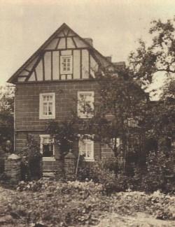 Haus und Gastwirtschaft Eberz um 1935