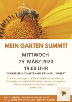 Mein Garten summt! - Gärtnern gegen das Insektensterben
